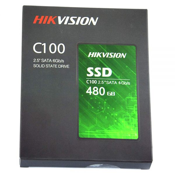 """HIK VISION 480GB C100 CONSUMER 2.5"""" SOLID STATE DRIVE (SSD)"""