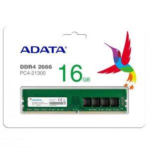 ADATA 16GB DDR4 RAM FOR DESKTOP – 2666 BUS