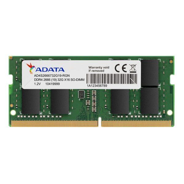 ADATA 16GB DDR4 RAM FOR LAPTOP – 2666 BUS