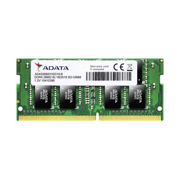 ADATA 8GB DDR4 RAM FOR LAPTOP – 2666 BUS
