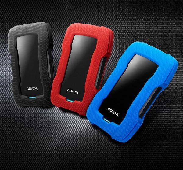 ADATA HD330 1TB USB 3.0 Shock-Resistant Extra Slim External Hard Drive
