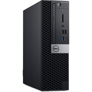 "Dell Optiplex 7070 Micro Tower PC Core i7 - 9th Gen. 4GB, 1TB, DVD Writer, Dell E2216H 21.5"" LED, KB/Mouse (03 Years Warranty)"