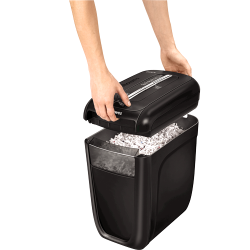 FELLOWES POWERSHRED® 60Cs CROSS-CUT PAPER SHREDDER