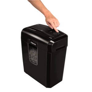 FELLOWES POWERSHRED® 8C CROSS-CUT PAPER SHREDDER