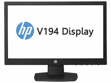 "HP 18.5"" Display LED Model: V194 Part # (V5E94AA)"