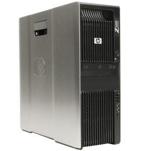HP WORKSTATION Z600 – INTEL® XEON E5560 DUAL PROCESSOR, 16GB RAM, 1TB HDD, NVIDIA GEFORCE GT 630, 2GB GC, DVD-RW