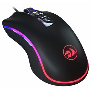 Redragon M711 COBRA Gaming Wired Mouse with 16.8 Million RGB Color Backlit, 10,000 DPI Adjustable, Comfortable Grip, 7 Programmable Buttons
