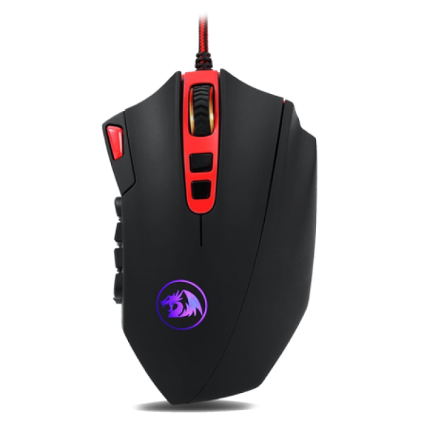 Redragon M901 Perdition 24000DPI MMO Mouse LED RGB USB Wired Gaming Mouse
