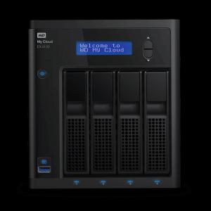 WD My Cloud Expert Series EX4100 Cloud | Network 4 Bay NAS Storage