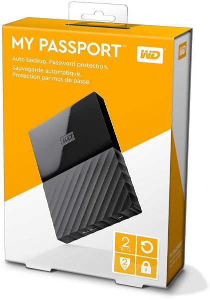 Western Digital My Passport 2TB Portable USB 3.0 External Drive
